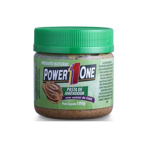 Pasta de Amendoim Power1one 180g - Açúcar de Côco