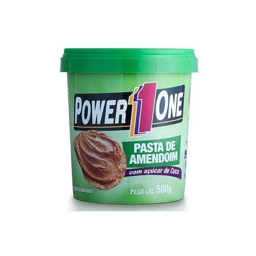 Pasta de Amendoim Power1one 500g - Açúcar de Coco
