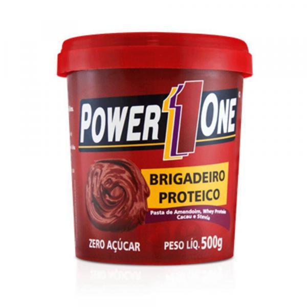 Pasta de Amendoim Proteico - Brigadeiro - 500g - Power One