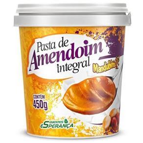 Pasta de Amendoin Integral Mandubim - Amendoim - 450 G