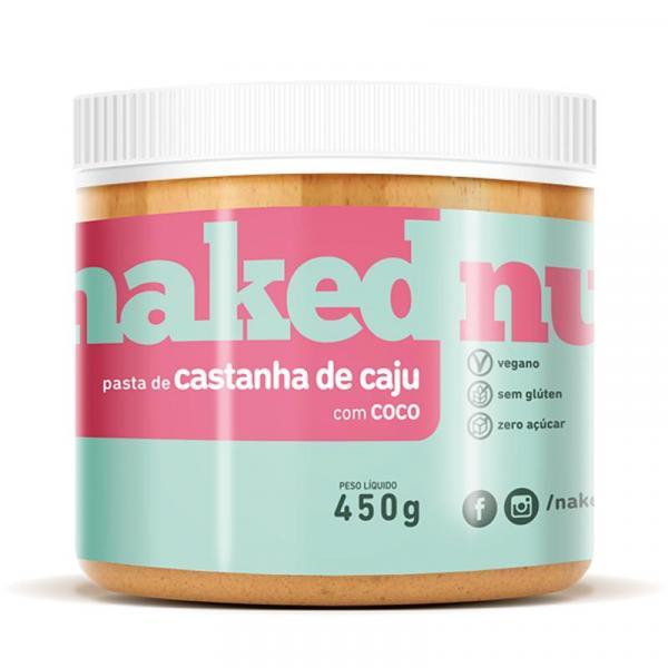 Pasta de Castanha de Caju C Coco 450g - Naked Nuts