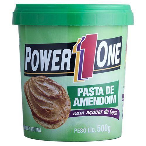 Pasta Power One de Amendoim 500g Acucar de Coco