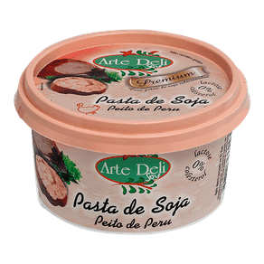 Pasta Soja Arte Deli Peito Peru 150g