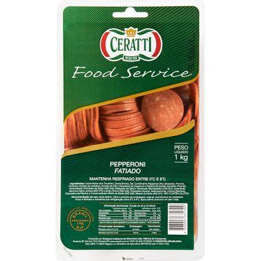 Pepperoni Fatiado Ceratti 1kg