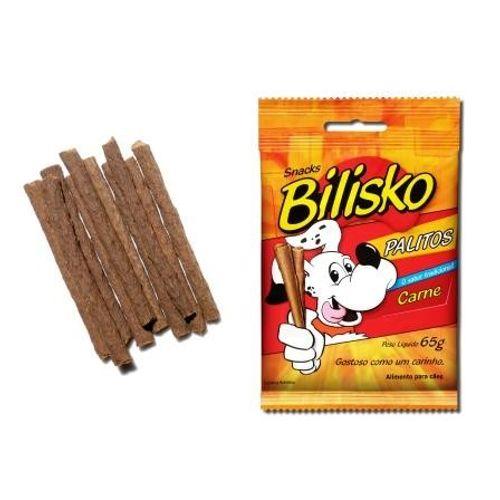 Petisco Bilisko Palito para Cães Sabor Carne 65g