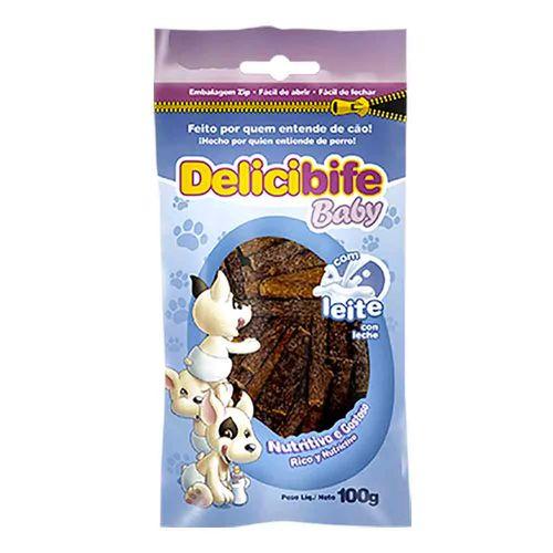 Petisco Deliciosso Delicibife Baby para Cães Filhotes 100g