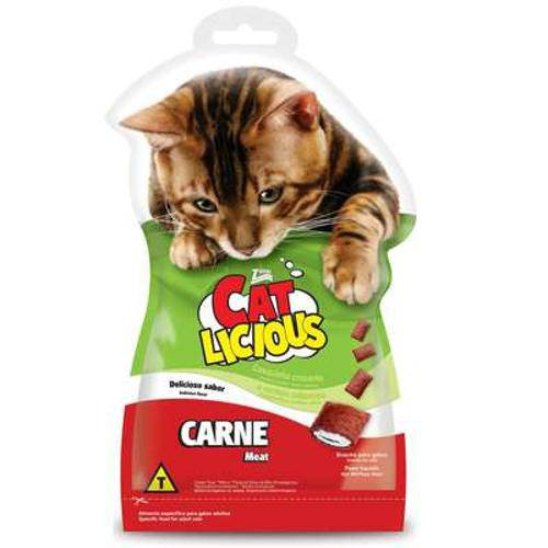 Petisco Total Cat Licious Carne - 40 G