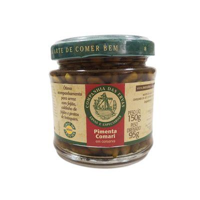 Pimenta Comari em Conserva 150g - Companhia das Ervas