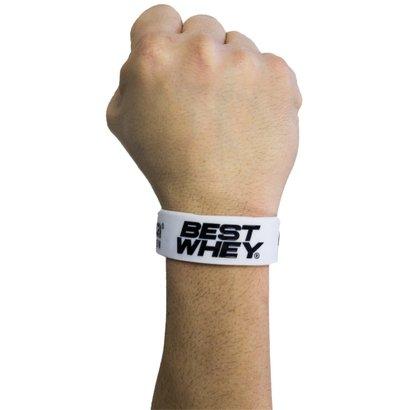 Pulseira Best Whey White Atlhetica Nutrition