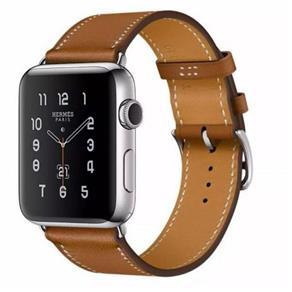Pulseira Flix de Couro Apple Watch 42mm e 44mm Marrom