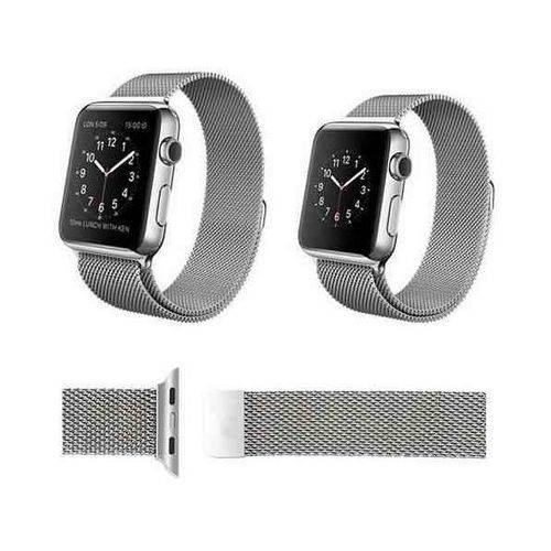Pulseira Milanese para Apple Watch Series 1 2 3 4 44mm Prata