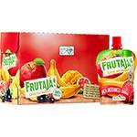 Purê de Frutas Maçã/Morango e Banana - Fruta já