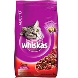 Ração Carne 1 Kg - Whiskas
