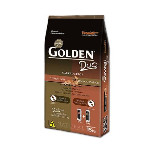 Ração Golden Duo Carne e Frango 15 KG - Premier Pet