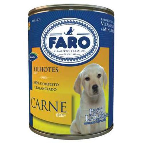 Ração Guabi Faro Filhotes Carne Lata - 280 G