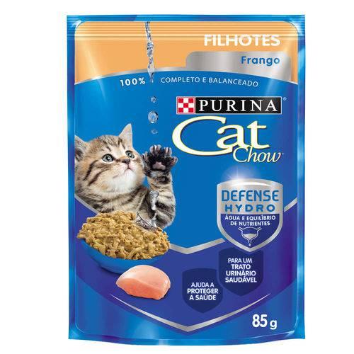 Ração Nestlé Purina Cat Chow Filhotes Sachê Frango ao Molho - 85 Gr