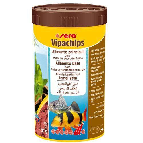 Ração para Peixes Sera Vipachips 90g