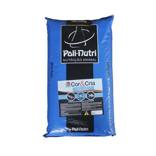 Ração Poli-nutri Ck2 Cor&cria Crescimento para Carpa e Kinguio 15kg