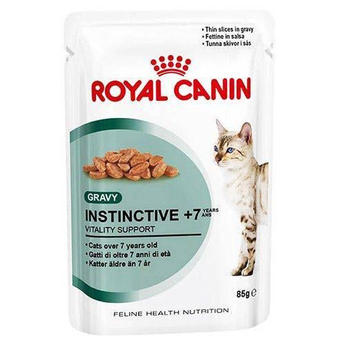 Ração Royal Canin Sachê Instinctive 7+ - 85g 85g