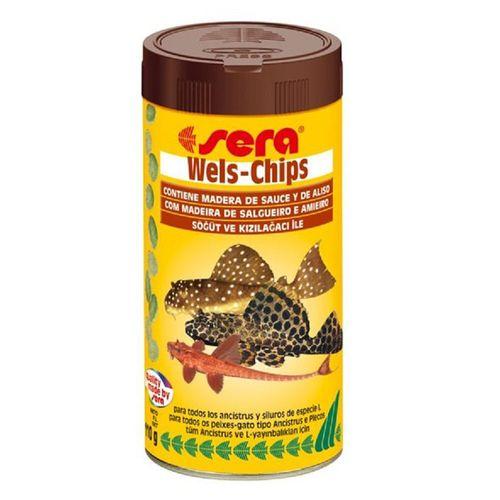 Ração Sera Wels-Chips para Peixes 15g