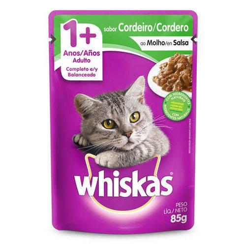 Ração Whiskas Sachê Atum para Gatos Adultos
