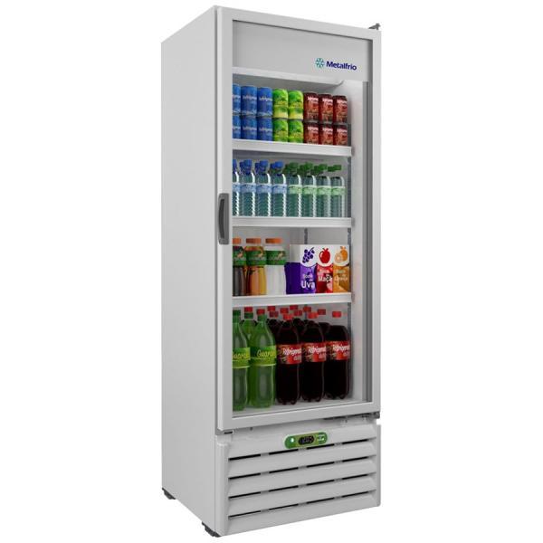 Refrigerador Expositor Bebidas 406 Litros VB40RE - Metalfrio