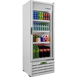 Refrigerador-Expositor Metalfrio 1 Porta VB40RE4001 para Bebidas com Controlador 406L 220V - Branco