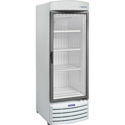 Refrigerador / Expositor Metalfrio 1 Porta Vertical VB-50R com Porta de Vidro 572 Litros - Branco