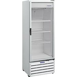 Refrigerador / Expositor Metalfrio 1 Porta Vertical VB40W com Porta de Vidro 406 Litros - Branco