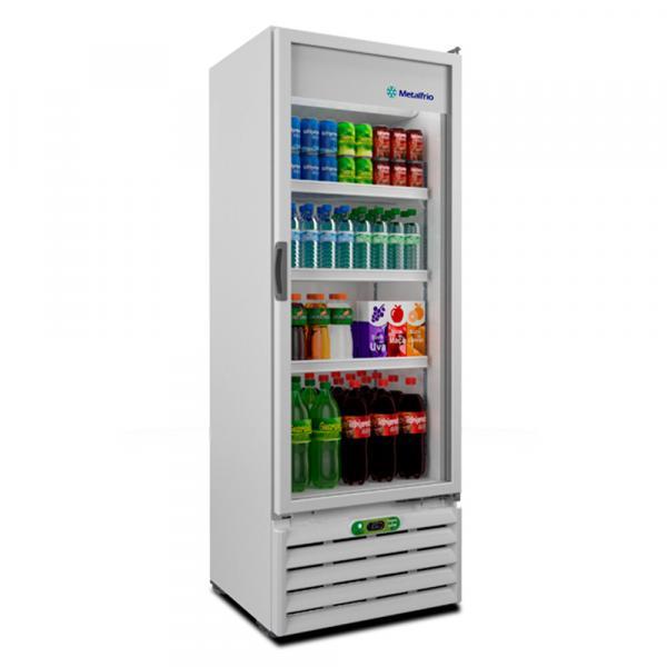 Refrigerador Expositor Metalfrio para Bebidas com Controlador Eletrônico 350 Litros VB40RE 220v