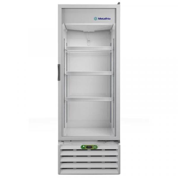 Refrigerador-Expositor para Bebidas com Controlador Eletrônico - 406 Litros VB40RE Metalfrio 127V