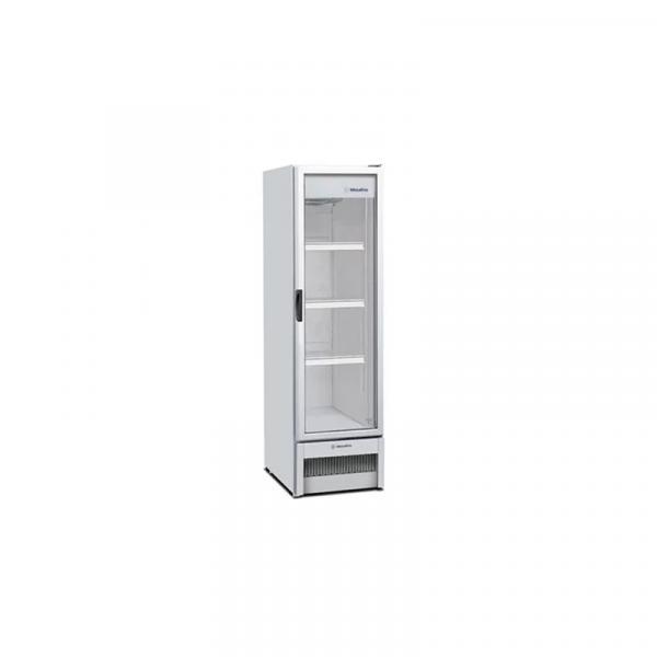 Refrigerador / Expositor Vertical Porta de Vidro para Bebidas 324 Litros VB28R Metalfrio
