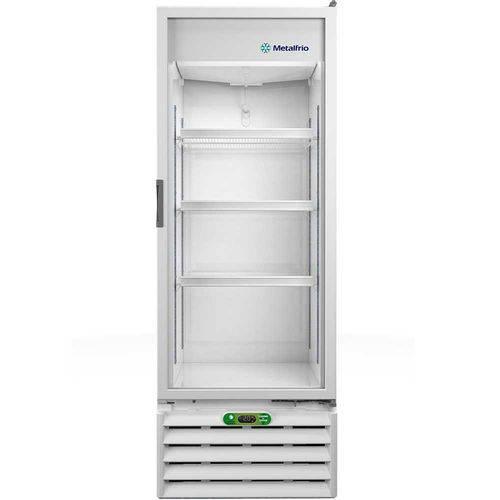 Refrigerador / Expositor Vertical Porta de Vidro para Bebidas 350 Litros VB40RE 110V - Metalfrio