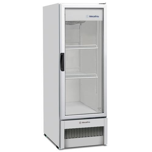 Refrigerador / Expositor Vertical Porta de Vidro para Bebidas 276 Litros VB25R Metalfrio