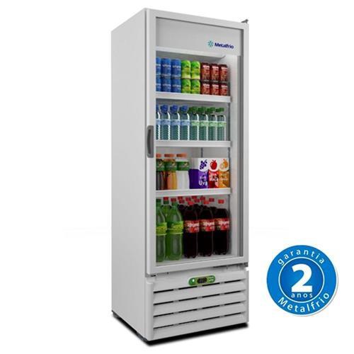 Refrigerador Porta de Vidro 406l Vb40r - Metalfrio - 220V