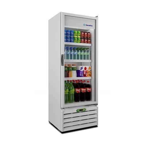Refrigerador Porta de Vidro 406l VB40R - Metalfrio - 110v