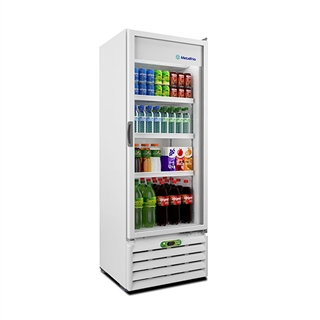 Refrigerador Porta de Vidro 406l Vb40r - Metalfrio