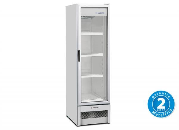 Refrigerador Vertical 1 Porta Vidro 324 L 220 V - VB28R - Metalfrio - 0MT 065