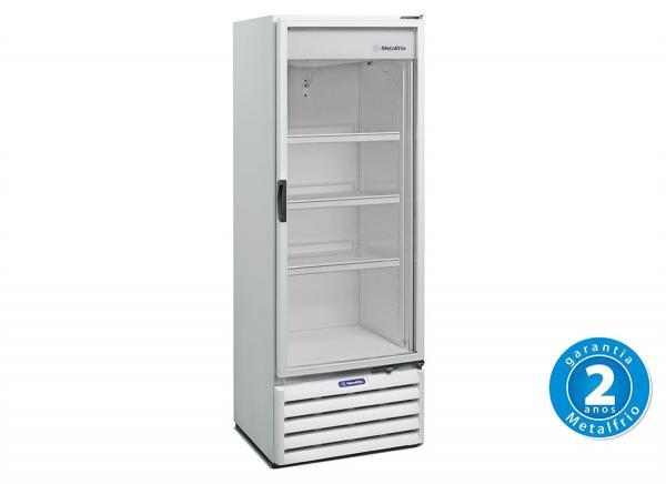 Refrigerador Vertical 1 Porta Vidro 406 L 127 V - VB40R - Metalfrio - 0MT 049