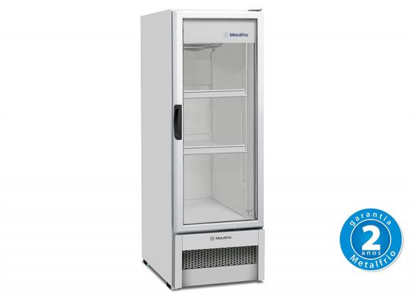 Refrigerador Vertical 1 Porta Vidro 276 L 220 V - VB25R - Metalfrio - 0MT 575