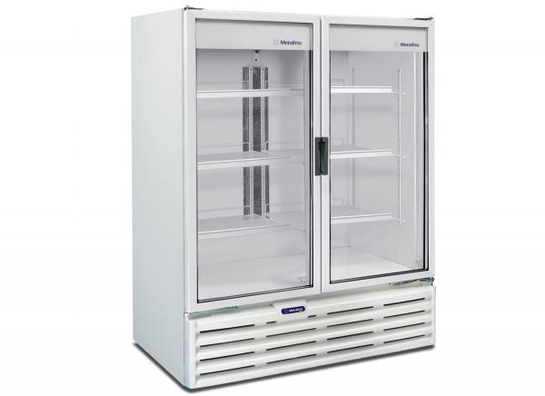Refrigerador Vertical 2 Portas Vidro 1186 L 220 V - VB99R - Metalfrio - 0MT 029
