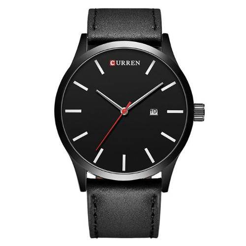 Relógio Masculino Curren Analógico 8214 Pt