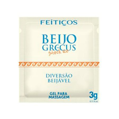 SACHE BEIJO GRECUS FEITIÇOS Shock Ice 3 GR