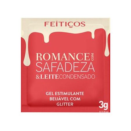 Sache Romance com Safadeza Feitiços Leite Cond. 3 GR