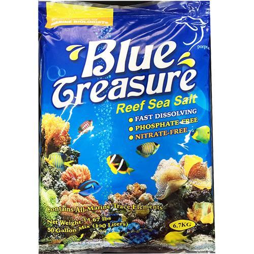 Sal Blue Treasure Reef para Peixe 6,7kg