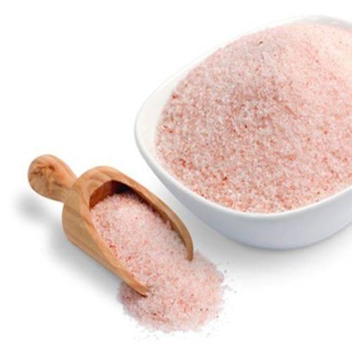 Sal Rosa do Himalaia Fino ( Granel 100g )