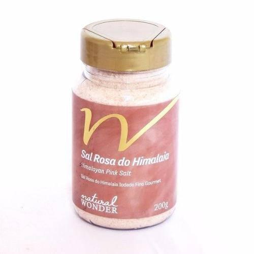Sal Rosa do Himalaia Fino Pote 200g - Himalayan_Gourmet