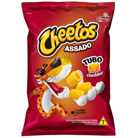 Salgadinho Cheetos Tubo Cheddar 47g - Elma Chips