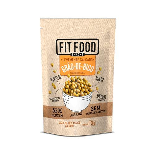 Snack Grão-de-bico Levemente Salgado Fit Food 100g
