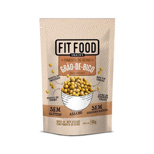 Snack Grão-de-bico Pimenta do Reino Fit Food 100g
